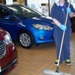 IVI client working at auto business